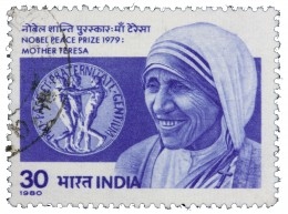 India Mother Teresa postage stamp